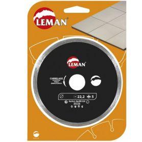 Disco diamante Leman corte baldosas 115
