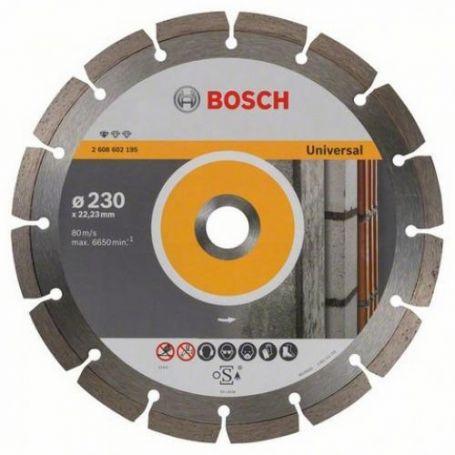 Disco tronzador de diamante Bosch 230