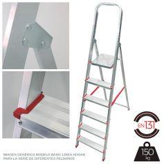 Escalera Persum 4 peldaños aluminio domestica