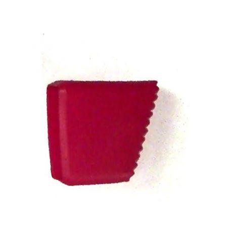 Taco para escalera Persum 35x20 rojo Serie 8