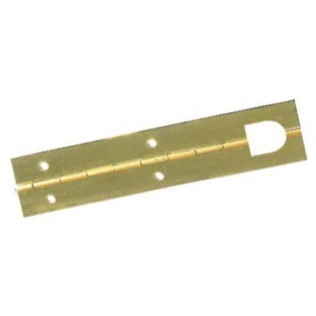 Bisagra de piano Micel 32x720mm latonado