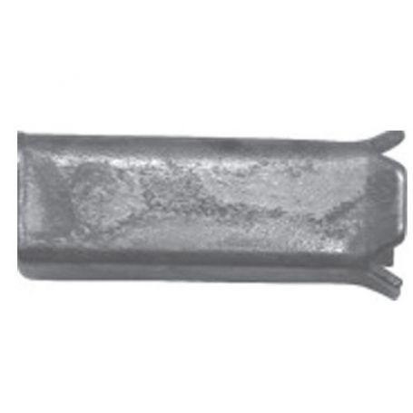 Reductor cuadradillo de 8 a 6mm zincado Micel