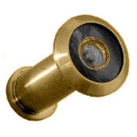 Mirilla para puerta Micel 180º 35/60mm latonado