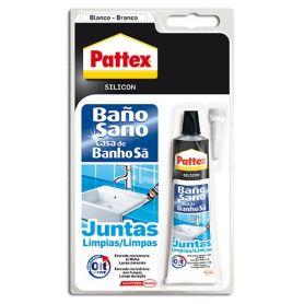 pattex silicona transparente para baño