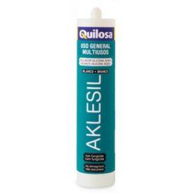 Silicona acida Aklesil blanco Quilosa