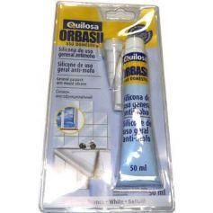 Silicona acida Orbasil transparente Quilosa uso domestico 50ml