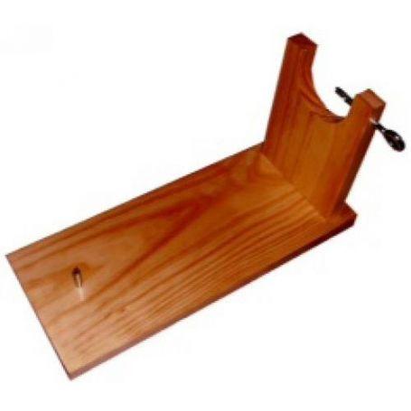 Jamonero madera barnizada con caja Aldama