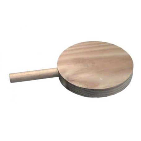 Tabla de picar de madera diametro 140mm Aldama