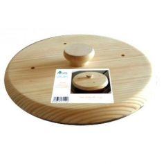 Tapa de sarten en madera de ø24cm Aldama