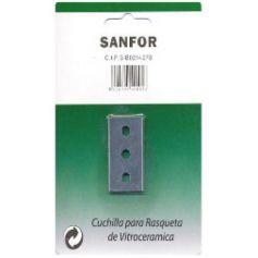 Cuchilla para rasqueta vitrocerámica Sanfor
