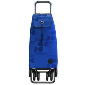 Carro de la compra i-max logos logic tour azul rolser