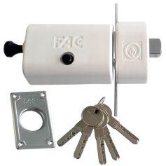 Cerrojo UVE Magnet Fac blanco 446-RP/80