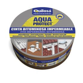 Cinta Bituminosa Quilosa Aqua Protect 10mts Negra