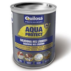 Silicona ms liquida Quilosa Aqua Protect negra 1 kg