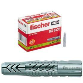 Taco Universal UX Fischer 6x35 caja 100 unidades