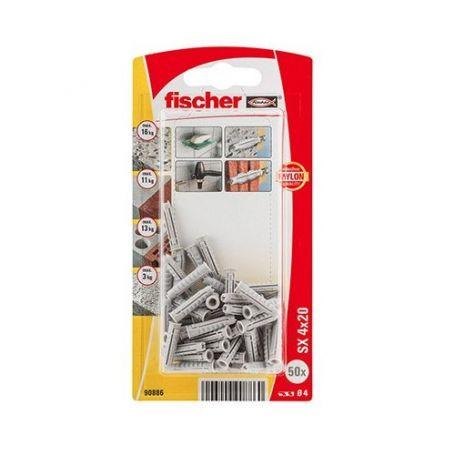 Taco Fischer SX 4x20 - Bliter 50 unidades
