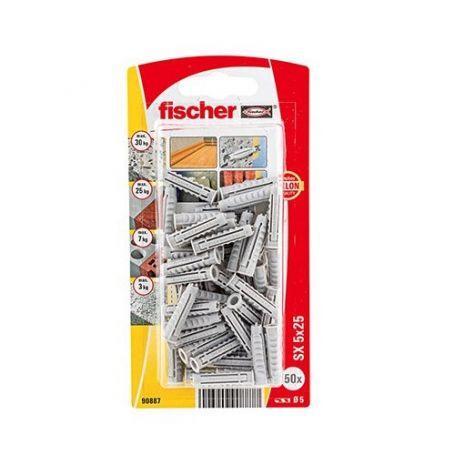 Taco Fischer SX 5x25 - Bliter 50 unidades