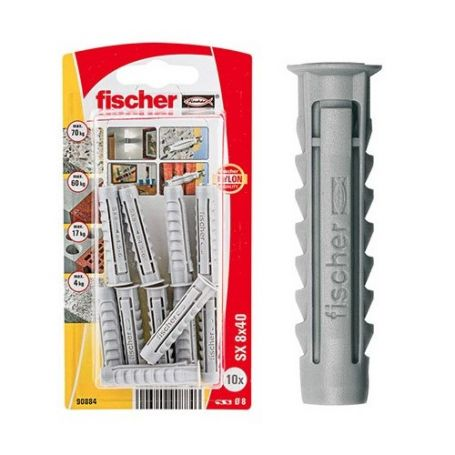 Taco Fischer SX 8x40 - Bliter 20 unidades