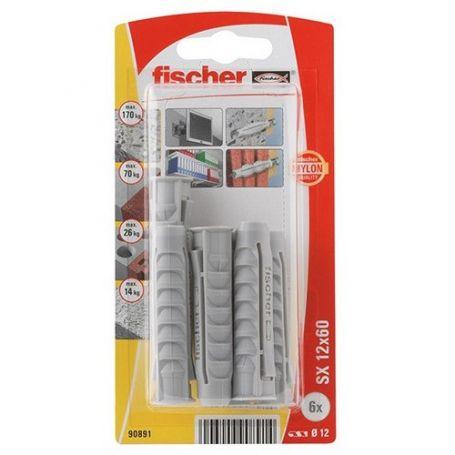 Taco Fischer SX 12x60 - Bliter 6 unidades