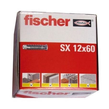 Taco Fischer SX 12x60 - caja 25 unidades