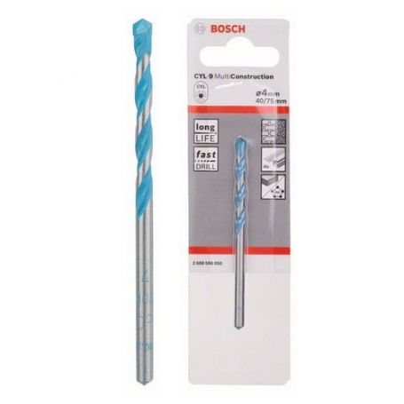 Broca multiuso Bosch CYL-9 Multiconstruction 4x40x75mm