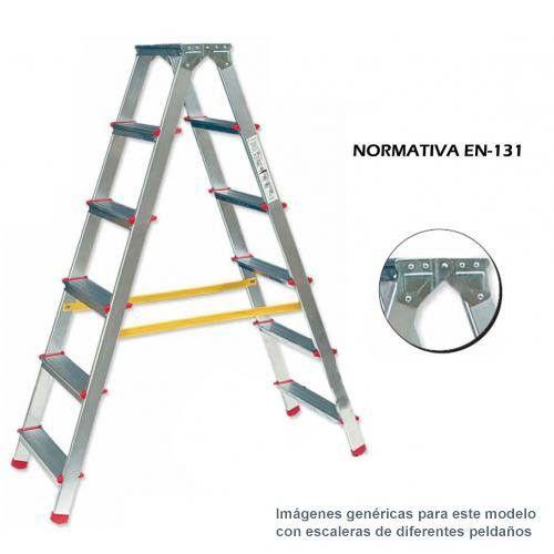 Escaleras Ferral Of Escalera Tijera De Aluminio Ferral 3 Pelda Os A 2 Caras