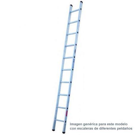 Escalera aluminio industrial 11 peldaños