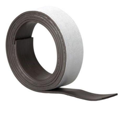 Rollo adhesivo de iman 20 x x1.2mm x 1m Kallstrong