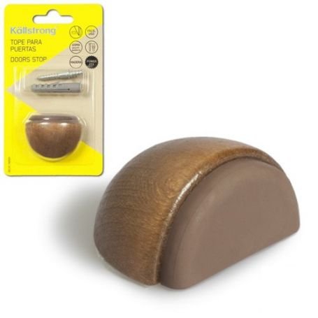 Tope madera Luxe adhesivo + tornillo sapely Kallstrong