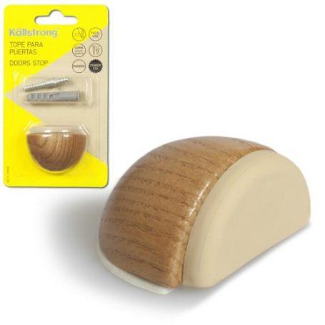 Tope madera Luxe adhesivo + tornillo pino Kallstrong