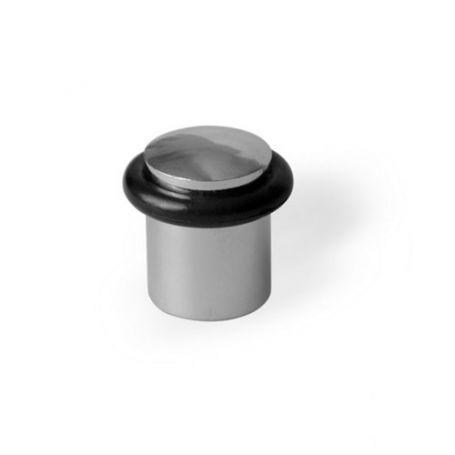 Tope metalico cilindrico cromado brillo 20x28mm kallstrong