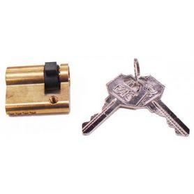 Cilindro europerfil 30x10 Union Electrica laton misma clave Fac