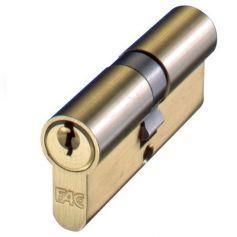 Cilindro europerfil 40x40 union electrica laton misma clave Fac