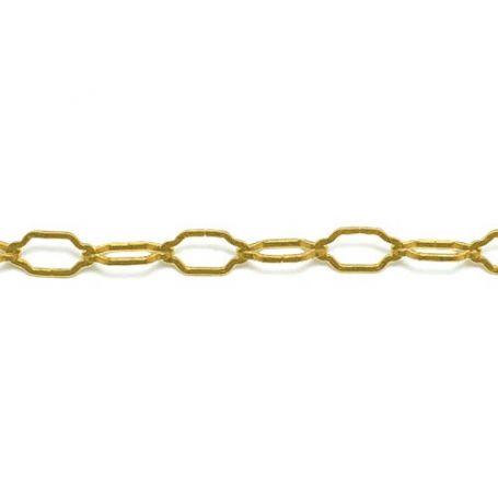Cadena decorativa Catedral dorada Ø3mm bobina 18m Katiak