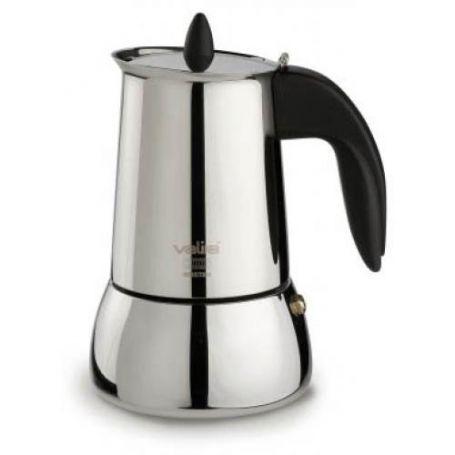Cafetera Isabella Valira 4 tazas Induccion Inox