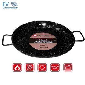 Paellera especial inducción 38cm Pata Negra Garcima