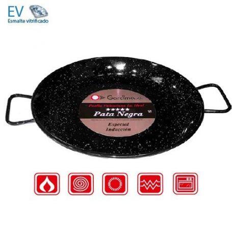 Paellera especial inducción Pata Negra 38cm Garcima