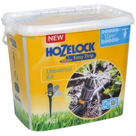 Riego automatico kit universal hasta 10 metros hozelock
