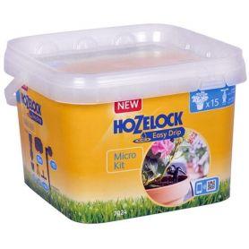 Riego automatico microkit para 15 plantas hozelock