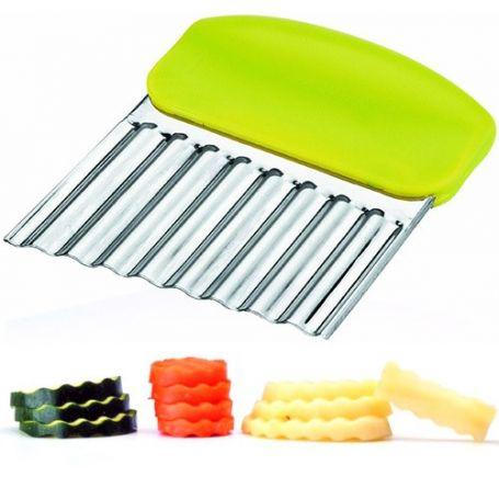 Cortador ondulado para verduras