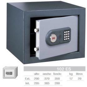 Caja fuerte electrónica de sobreponer 102 ES FAC