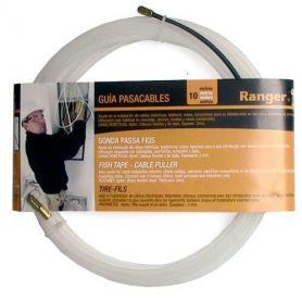 Guia pasacables nylon transparente 10m Ranger