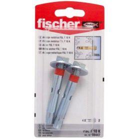 Anclaje metálico taco Fischer FSL T 10mm K