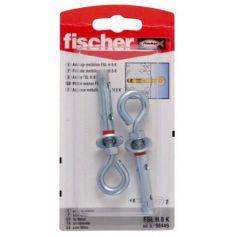 Anclaje metálico taco Fischer FSL H 8mm K hembrilla cerrada