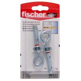 Anclaje metálico taco Fischer FSL H 10mm K hembrilla cerrada