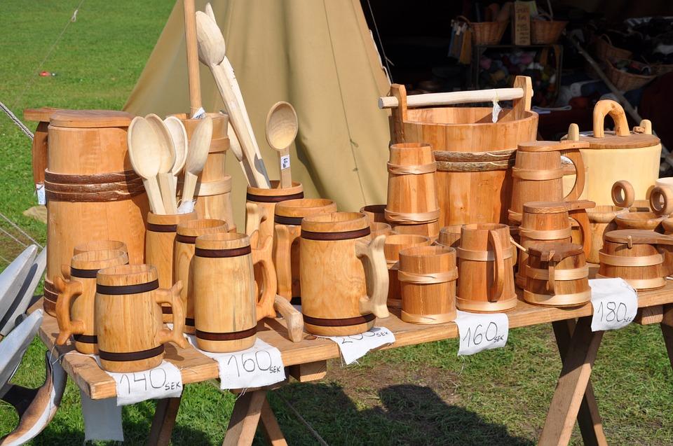 Ventajas de utilizar accesorios de cocina de madera for Cucharones de cocina