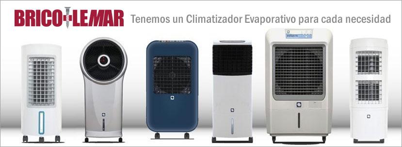 Climatizadores evaporativos en Bricolemar