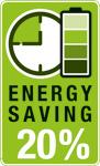 los discos de corte AKKU-TOP ofrecen un ahorro de hasta el 20% de la energía necesaria para utilizar la herramienta