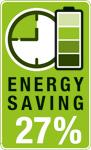 Las sierras de calar AKKUTOP, AKKU-TOP, AKKU TOP logran obtener un ahorro energético o energy saving de 27% del uso de la herramienta