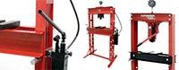 Prensa hidráulica manual para taller